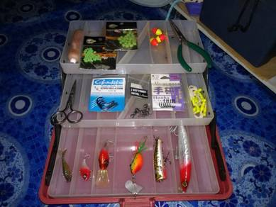 Bakau Tackle Box with Complete tackle
