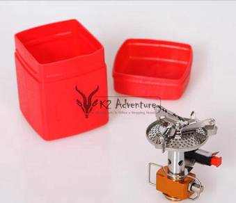 Lightweight solo camping stove