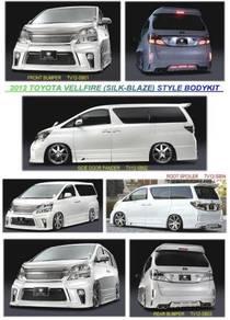 Toyota Vellfire Silk Blaze Bodykit Body kit Bumper