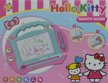 Cute Hello Kitty Magnetic Drawing Board 4colours