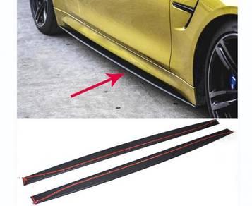 BMW F80 M3 and F82 M4 Carbon Fiber Side Skirt