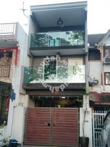 Fully Renovated 3 Storey Terrace House Jalan Dato Senu