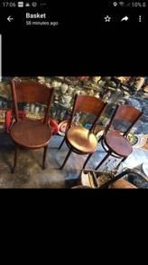Antique vintage bentwood Coffeeshop chair kopitiam
