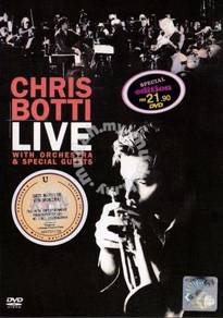 DVD CHRIS BOTTI Live With Orchestra Special Guests