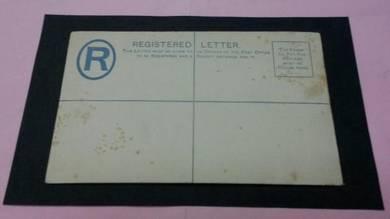 Cover Straits Settlements 1891 No 1658