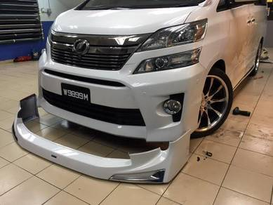 Toyota vellfire nfl front lip modelista pp taiwan