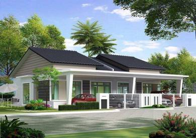 Rumah Berkembar 1 Tingkat, Jalan Sukepi, Telok Panglima Garang, Sel