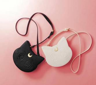 White or black sailormoon slingbag bag HB203