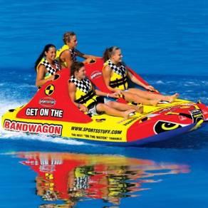 Bandwagon 2+2 Inflatable Quadruple Rider Towable