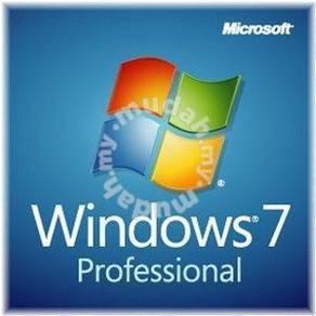 GENUINE Microsoft Windows 7 Professional