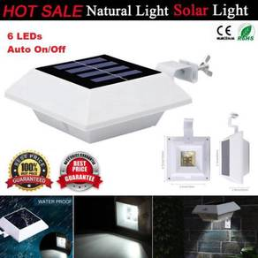 Solar 6 LED Gutter Light ( Not Motion Sensor )