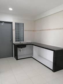 Rental Cheap | Batu Kawan Apartment | Kitchen Cabinet | Suria Hijau