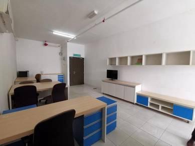 Avenue Crest Office FULLY Furnish Shah Alam Batu 3 near Subang Jaya