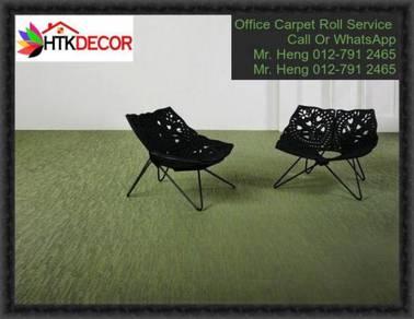 Modern Plain Design Carpet Roll With Install QR59