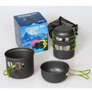 Set of camping cooking set / cookware 06