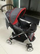 Baby Stroller With Rocking System