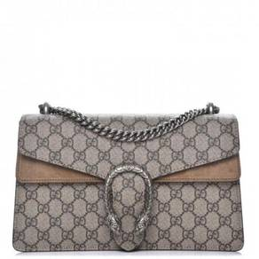 GUCCI GG Supreme Monogram Small Dionysus Shoulder