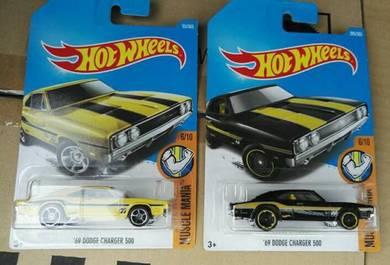Hotwheels dodge charger 500 lot
