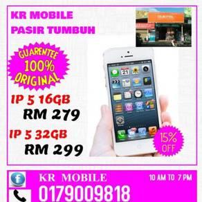 Used- iphone 5 16gb