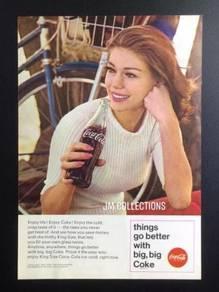 Coca Cola Old Magazine Advertisement 5.5