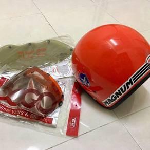 Helmet magnum LTD oren 59