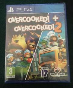 NEW AND SEALED PS4 Game Overcooked + Overcooked 2