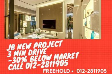 2-3 min Reach CIQ JB town new project
