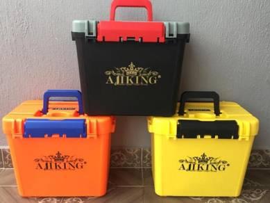 V3 - New Ajiking Tackle Seat Box / Kotak Pancing