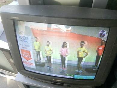 TV SHARP LAMO 25 inci ORIGINAL