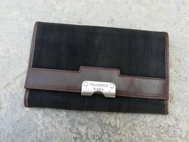 FRANCESCO BIASIA trifold long wallet kueii