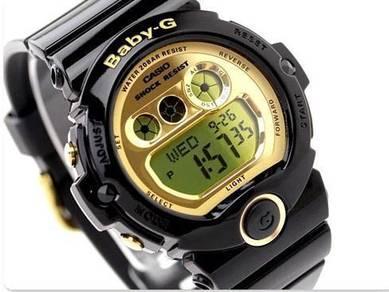 Watch - Casio BABY G BG6901-1 BLACK GOLD -ORIGINAL
