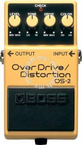 Boss os2 Overdrive Guitar Pedal (FREE Cables)