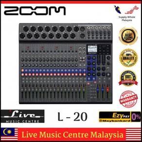 Zoom LiveTrak L-20 - 20-Input Digital Mixer (L20)