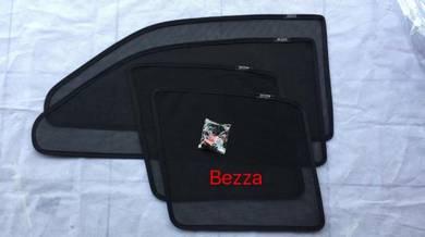 Perodua bezza sun shade with magnet 4 pcs