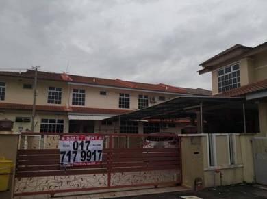 Below Bank Value EndLot Renovation Angkasa Nuri Taman Merdeka Berendam