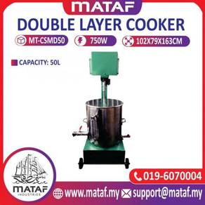 Mesin double layer cooker