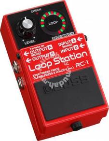 BOSS RC-1 Loop Station - Looper Pedal (FREE Cables