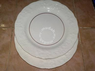 Pinggan antique F&N dinner plate