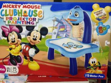 Mickey Mouse Projector Painting Children Toy