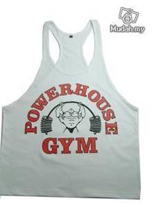 Gym Training Singlet (Blue - Power House)