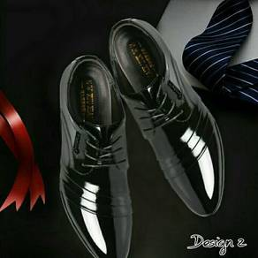 Leather Derby Shoes (MSXQ25458)