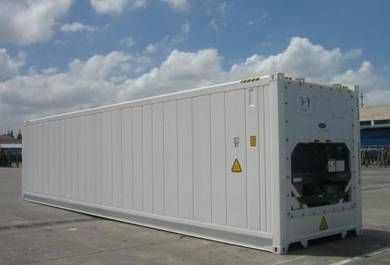 40' FT HC COLD/ REEFER Container Storage / CONTENA