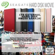 Hard disk pc games/movies