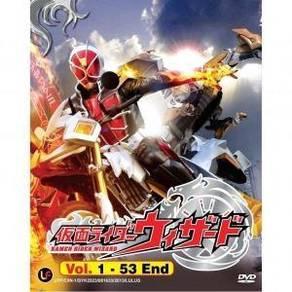 DVD Kamen Rider Wizard Vol.1-53 End