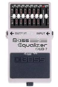 BOSS GEB-7 Bass Guitar Pedal (FREE Cables)