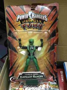 Bandai Power Rangers Jungle Fury 6' Green Elephant