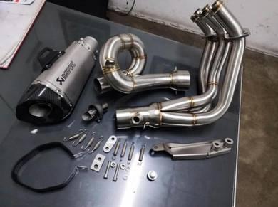 Yamaha mt09 MT09 full system akrapovic