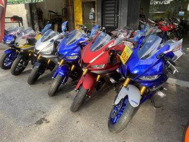 Yamaha YZF-R25 R25 R 250 New Colour Free Exhasut