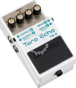 Boss te2 Tera Echo Guitar Pedal (FREE Cables)