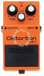 Boss ds1 / ds-1 Distortion Guitar Pedal FREE Cable